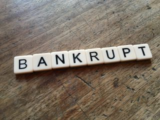 lending money to a bankrupt business
